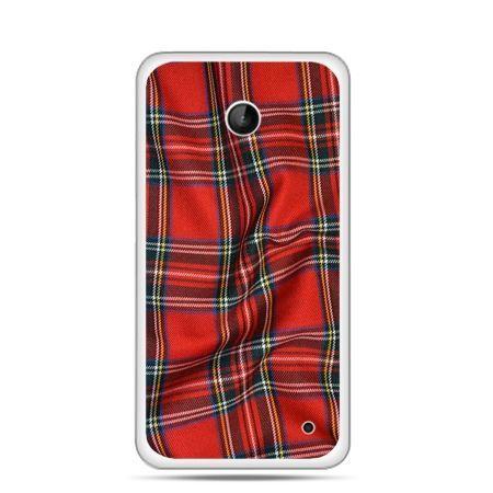 Nokia Lumia 630 etui szkocka kratka