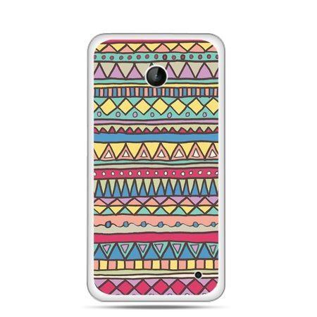 Nokia Lumia 630 etui Azteckie wzory