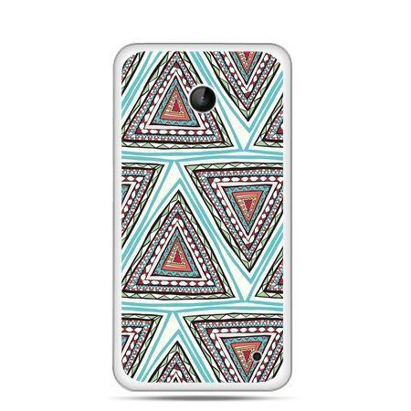 Nokia Lumia 630 etui Azteckie trójkąty