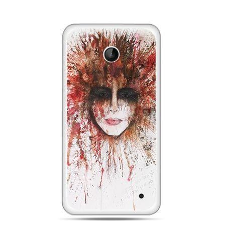 Nokia Lumia 630 etui tajemnicza twarz