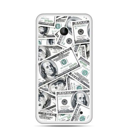 Nokia Lumia 630 etui dolary banknoty