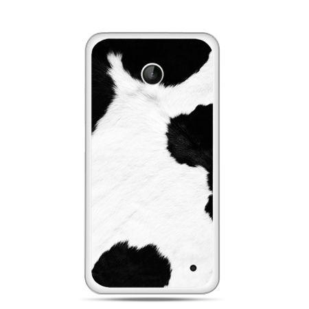 Nokia Lumia 630 etui łaciata krowa