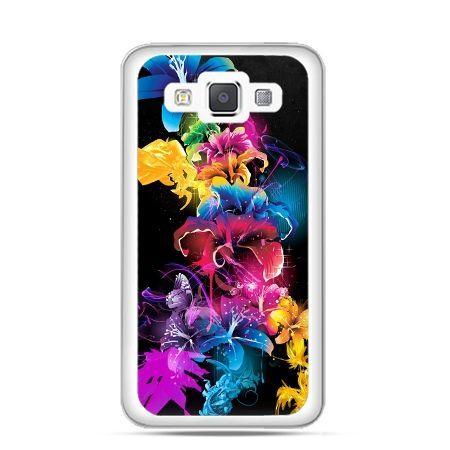 Etui na Galaxy A5 Kolorowe kwiaty