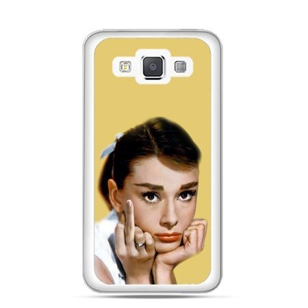 Etui na Galaxy A5 Audrey Hepburn Fuck You