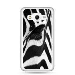 Etui na Galaxy Core 2 Zebra