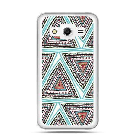 Etui na Galaxy Core 2 Azteckie trójkąty