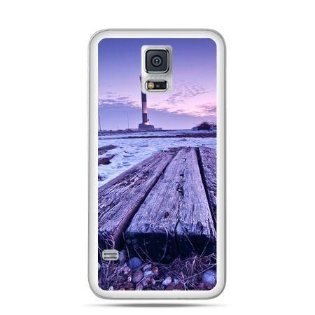 Samsung Galaxy S5 mini Latarnia morska zmierzch