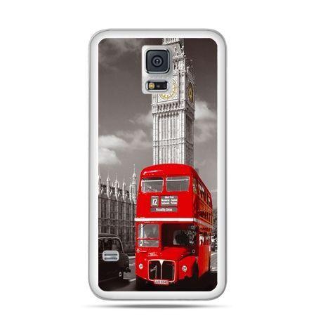 Etui na Samsung Galaxy S5 mini Czerwony autobus londyn