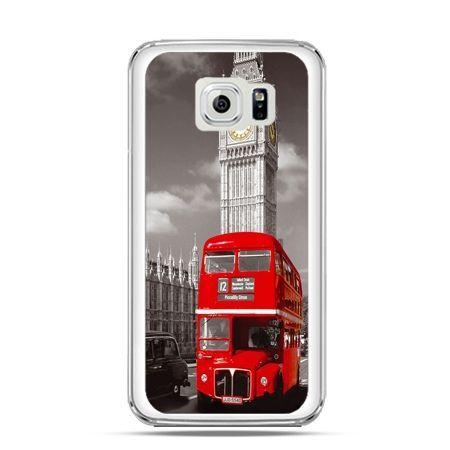 Etui na Galaxy S6 Czerwony autobus londyn