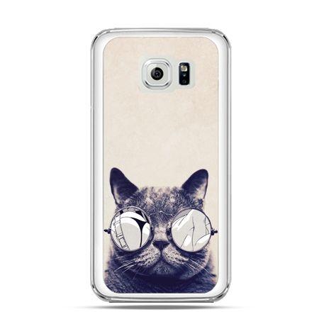 Etui na Galaxy S6 Kot w okularach