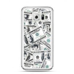Etui na Galaxy S6 dolary banknoty