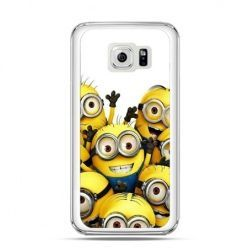 Etui na Galaxy S6 Edge Minionki