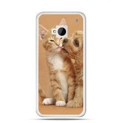 Etui na HTC One M7 Jak pies i kot