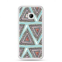 Etui na HTC One M7 Azteckie trójkąty