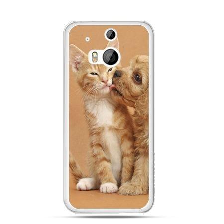 Etui na HTC One M8 Jak pies i kot