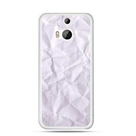Etui na HTC One M8 pomięty papier