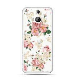 Etui na HTC One M8 Polne kwiaty