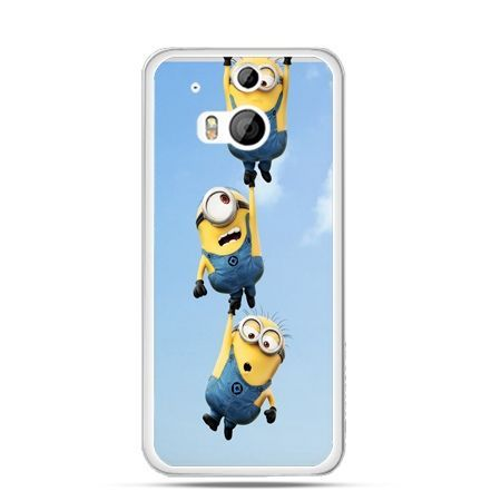 Etui na HTC One M8 Spadające minionki