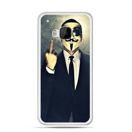 Etui na HTC One M9 Anonimus Fuck You