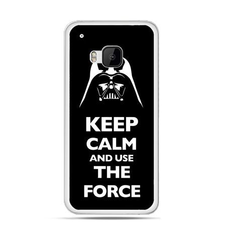 Etui na HTC One M9 Keep calm and use the force