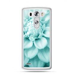 Etui na LG G3 Niebieski kwiat dalii