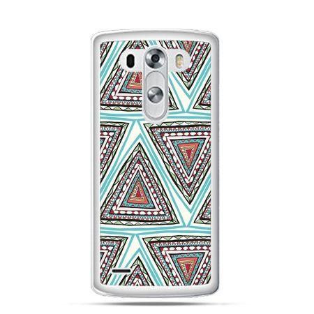 Etui na LG G3 Azteckie trójkąty