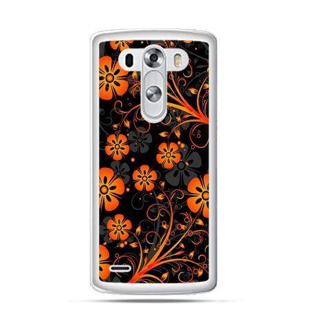 Etui na LG G3 Nocne kwiaty