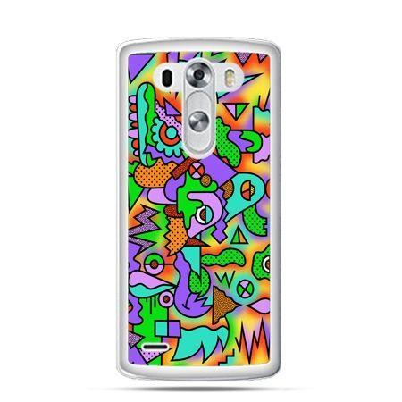 Etui na LG G3 Kolorowa abstrakcja