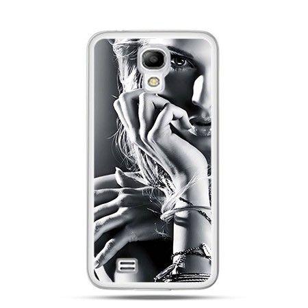 Etui kobieta za szybą Samsung S4 mini