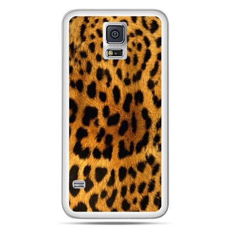 Galaxy S5 Neo etui skóra lamparta