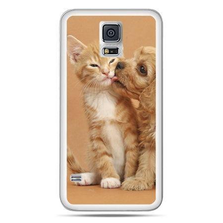 Galaxy S5 Neo etui jak pies i kot