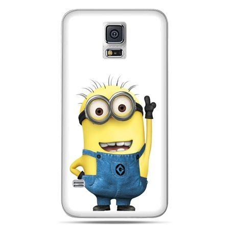 Galaxy S5 Neo etui wesoły minionek ,minionki