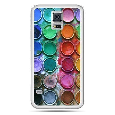 Galaxy S5 Neo etui kolorowe farbki