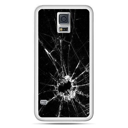 Galaxy S5 Neo etui rozbita szyba