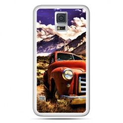 Galaxy S5 Neo etui retro pick-up