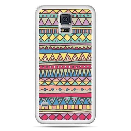 Galaxy S5 Neo etui Azteckie wzory