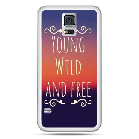 Galaxy S5 Neo etui Young wild and free