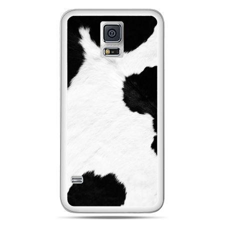 Galaxy S5 Neo etui łaciata krowa