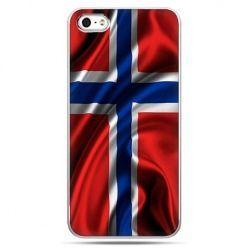 Etui na telefon flaga Norwegii.