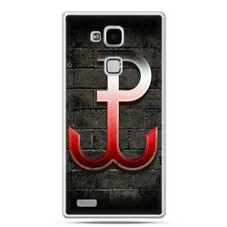 Etui na telefon Huawei Mate 7 patriotyczne - Polska Walcząca