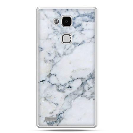 Etui na Huawei Mate 7 biały marmur