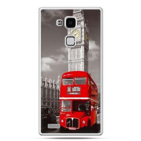 Etui na Huawei Mate 7 czerwony autobus londyn