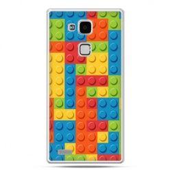 Etui na Huawei Mate 7 kolorowe klocki