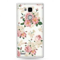 Etui na Huawei Mate 7 polne kwiaty
