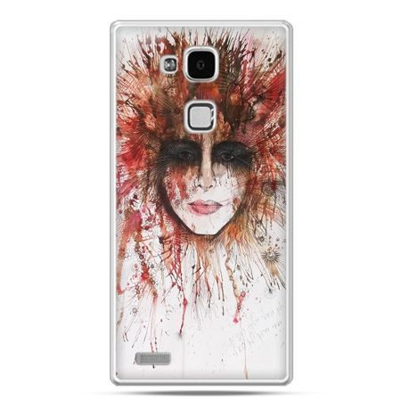 Etui na Huawei Mate 7 tajemnicza twarz
