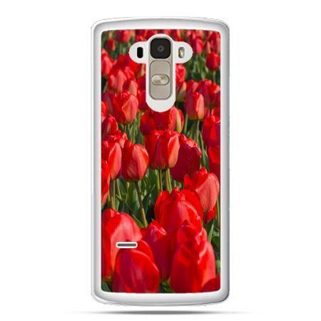 Etui na LG G4 Stylus czerwone tulipany