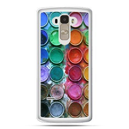 Etui na LG G4 Stylus kolorowe farbki
