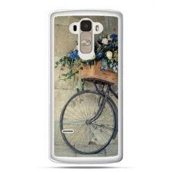 Etui na LG G4 Stylus rower z kwiatami