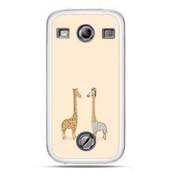 Samsung Xcover 2 etui żyrafy
