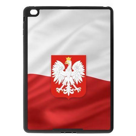 Etui na iPad Air case flaga Polski z godłem
